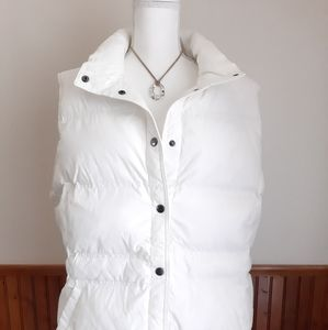 Off White Lands End Puffer Vest size 3X